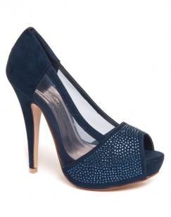Chaussures femme Beauty Girl's: Escarpins bleus en résine