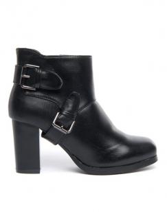Chaussures femme Dazawa: Bottines noires à talons épais