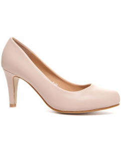 Chaussures femme Style Shoes: Escarpins Beiges