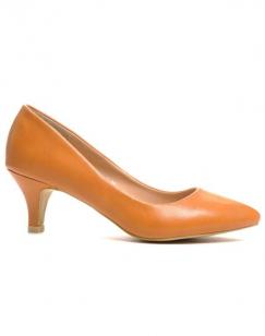 Chaussures femme Style Shoes: Escarpins camel