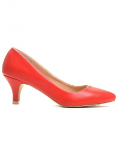 Chaussures femme Style Shoes: Escarpins rouges