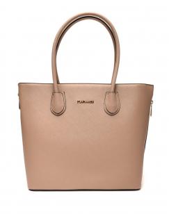 Grand sac à main taupe Flora&Co