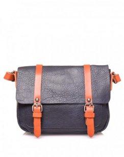 Petit sac bandoulière vintage bleu