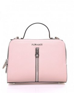 Sac mallette rose pale