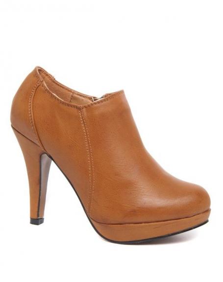 Chaussure à talon camel Alicia Shoes