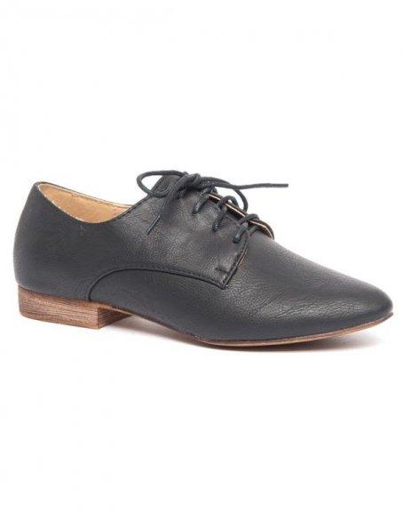 Chaussure de ville femme Ideal type derby noir