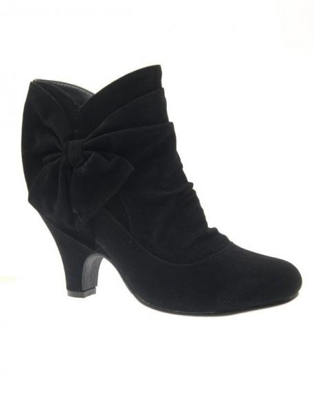 Chaussure femme Abloom: Bottines noir