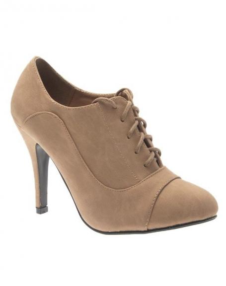 Chaussure femme Abloom: Escarpin kaki