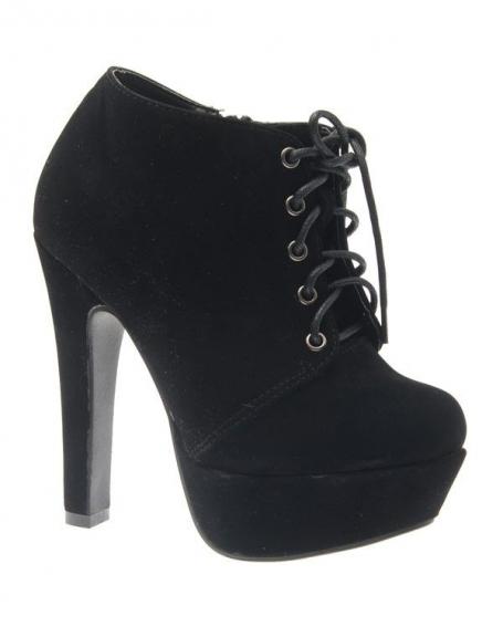 Chaussure femme Abloom: Escarpin noir