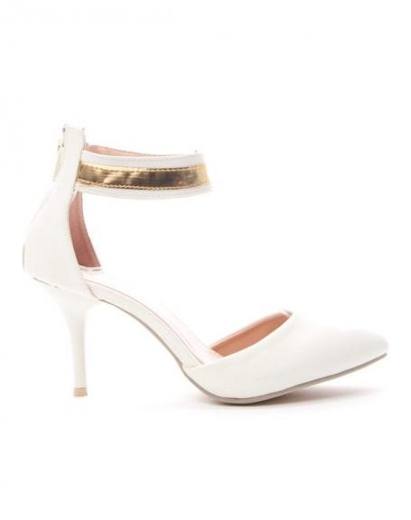 Chaussure femme Alicia: Escarpin - blanc