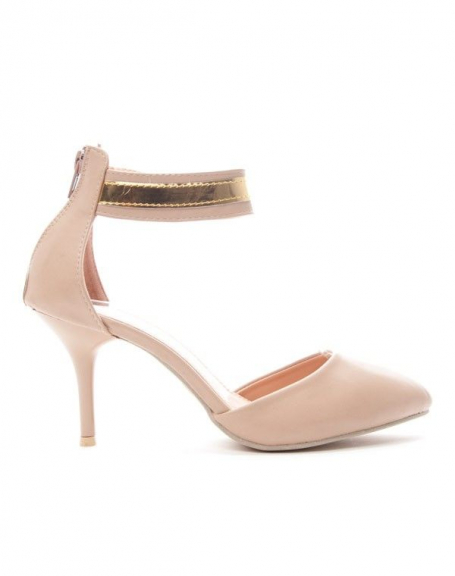 Chaussure femme Alicia: Escarpin - kaki