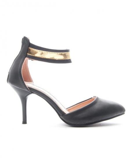 Chaussure femme Alicia: Escarpin - noir