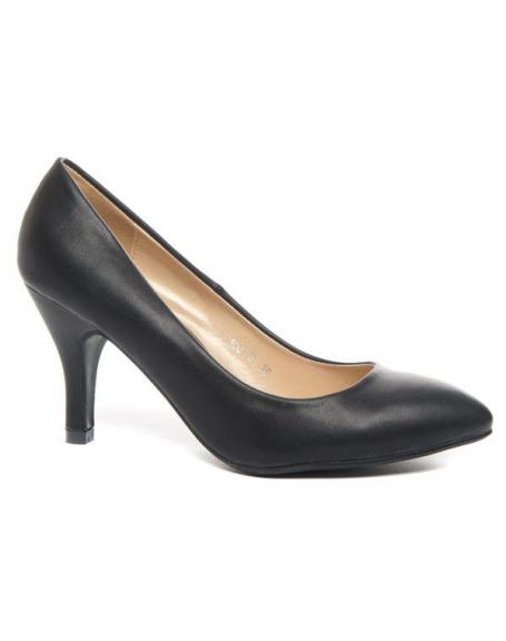 Chaussure femme Alicia: Escarpin noir
