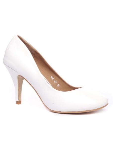 Chaussure femme Alicia: Escarpins blancs