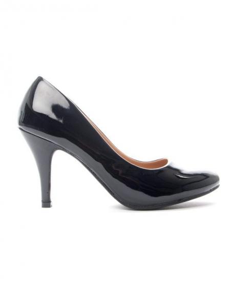 Chaussure femme Alicia: Escarpins vernis noir