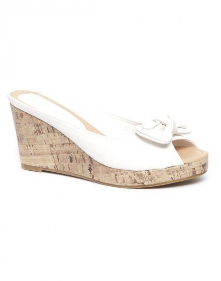 Chaussure femme Alicia: Sandales blanches