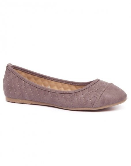 Chaussure femme Alicia Shoes: Ballerines marron