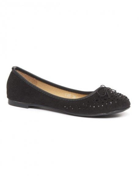 Chaussure femme Alicia Shoes: Ballerines noires