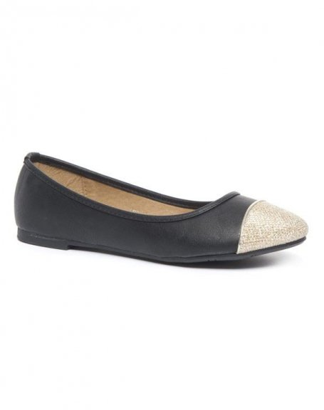Chaussure femme Alicia Shoes: Ballerines noires