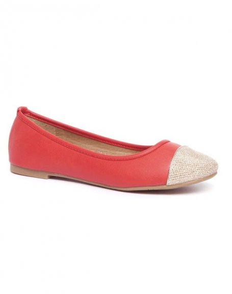 Chaussure femme Alicia Shoes: Ballerines rouge