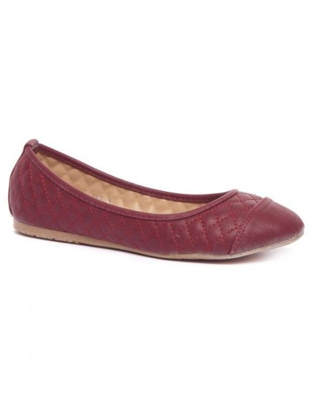 Chaussure femme Alicia Shoes: Ballerines rouges