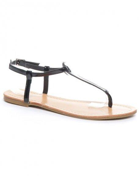 Chaussure femme Alicia Shoes: Sandale noire
