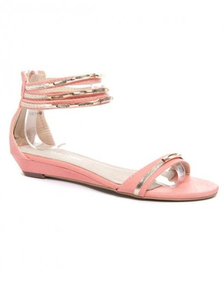 Chaussure femme Alicia Shoes: Sandales roses