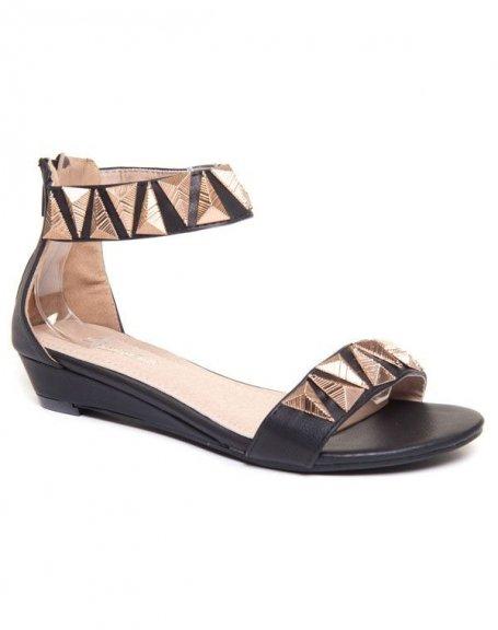 Chaussure femme Beauty Girl's : Nu-pieds noir