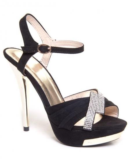 Chaussure femme Beauty Girl's: Sandale à talon noir