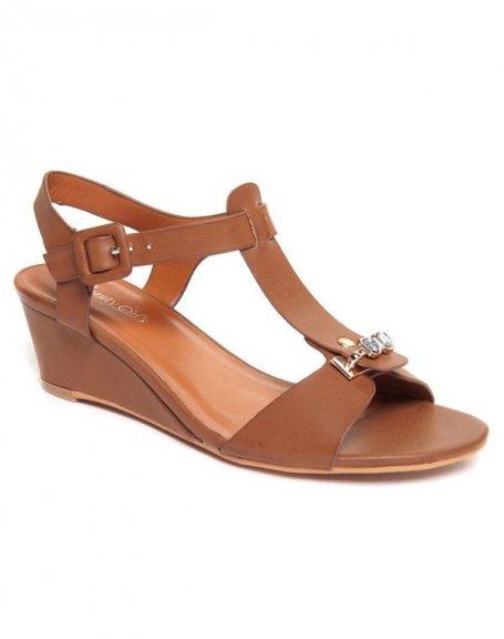 Chaussure femme Beauty Girl's: Sandales marron