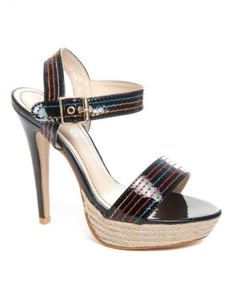 Chaussure femme Bellucci: Sandale noire