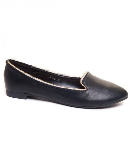 Chaussure femme Belluci: Ballerines noires slippers