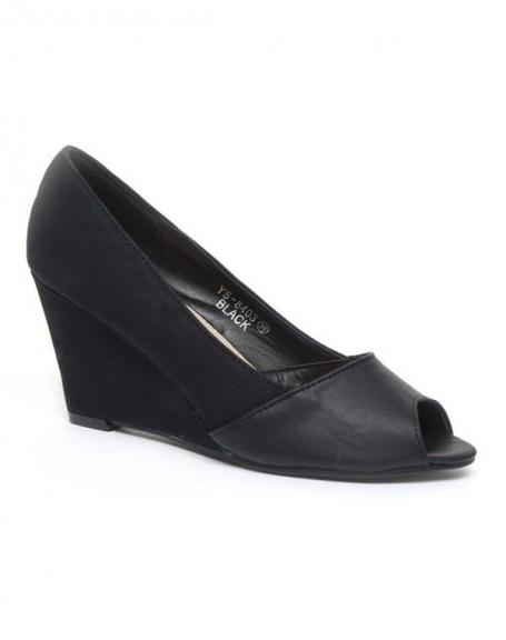 Chaussure femme Ideal: Escarpins noirs