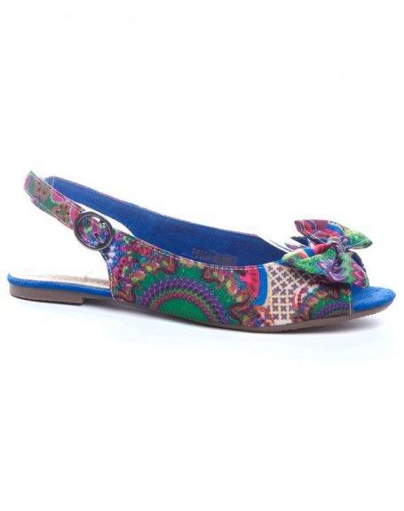 Chaussure femme Ideal: Sandales bleues