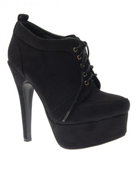 211fd44674311 Chaussure femme Jennika: Escarpins femme noir