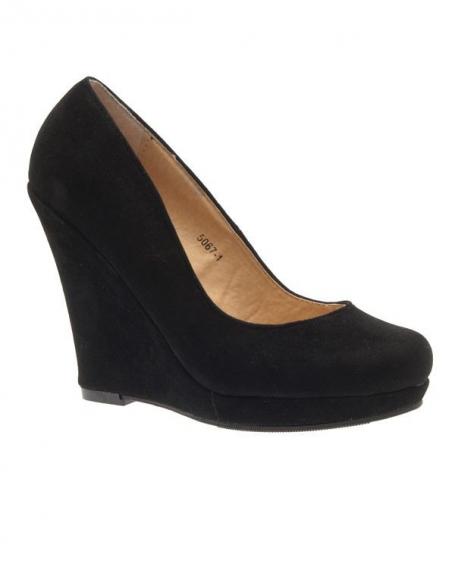 Noir Femme StyleEscarpin Chaussure Like Compensé ucK1JTlF3