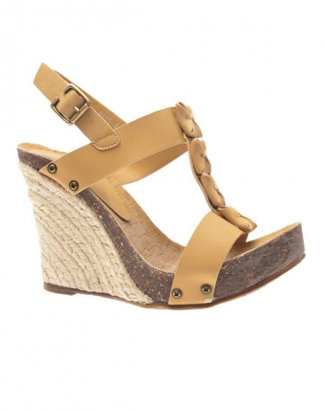Chaussure femme Like Style: Sandale beige