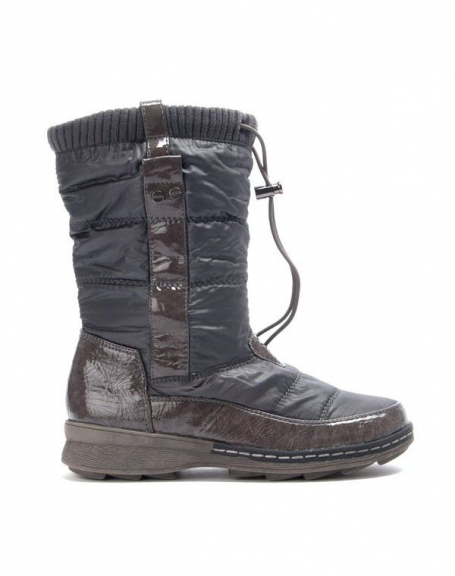 Chaussure femme Like You: Botte boots gris