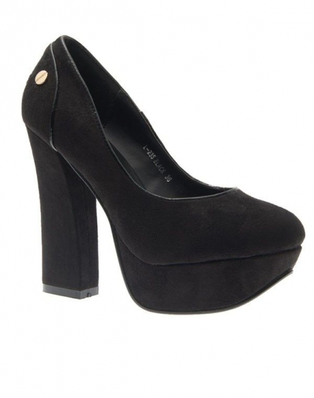 Chaussure femme Metalika: Escarpins femme noir