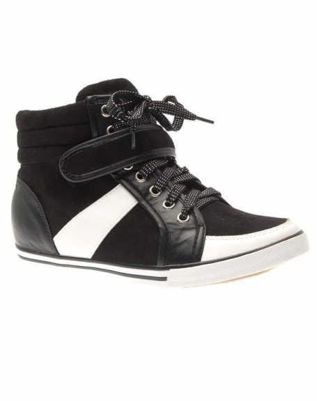 Chaussure femme Sergio Todzi: Basket mi-montante noir