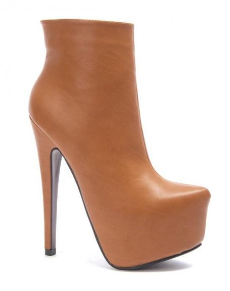 Chaussure femme Sergio Todzi: Bottes camel