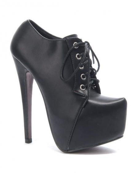 Chaussure femme Sergio Todzi: Bottines à lacet noire