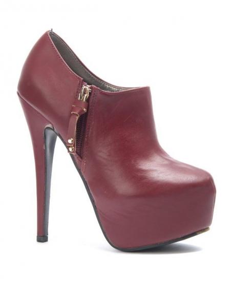 Chaussure femme Sergio Todzi: Bottines bordeaux