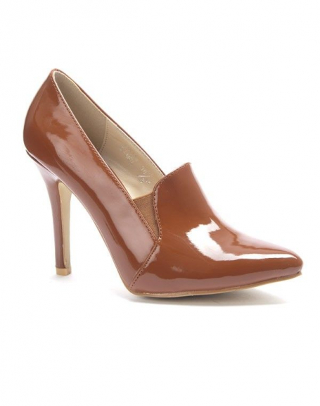 Chaussure femme Sergio Todzi: escarpin vernis camel