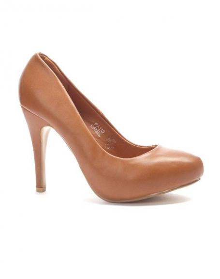 Chaussure femme Sergio Todzi: Escarpins camel