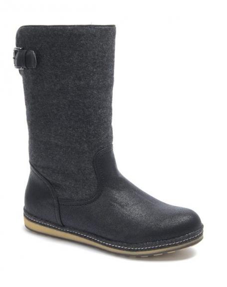 Chaussure femme Sinly: Botte noire
