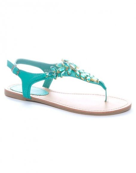 Chaussure femme Sinly: Sandales vertes