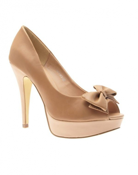 Chaussure femme Sinly Shoes: Escarpin beige