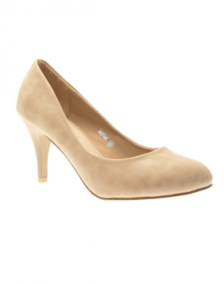 Chaussure femme Sinly Shoes: Escarpin beige