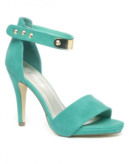 Chaussure femme Sinly Shoes: Escarpins verts